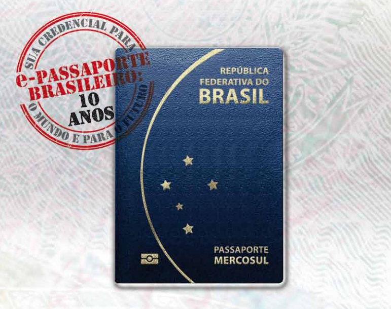 Novo Passaporte Brasileiro Validade de 10 Anos
