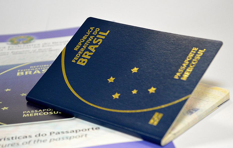 Novo Passaporte Brasileiro - 10 Anos de Validade